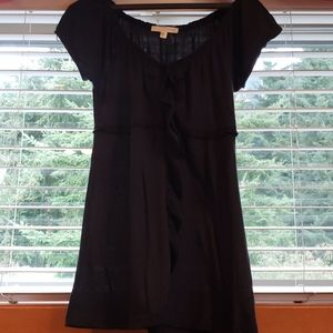 Black Cotton Shirt by energie
